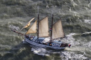 Northsea crossing from Inverness to Amsterdam 2019 - Flying Dutchman