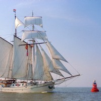 Charter this traditional sailing ship